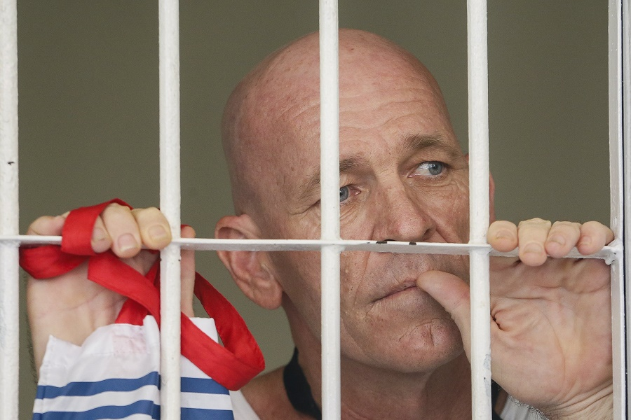 British man David Fox verdict trial  in Bali over drug posession