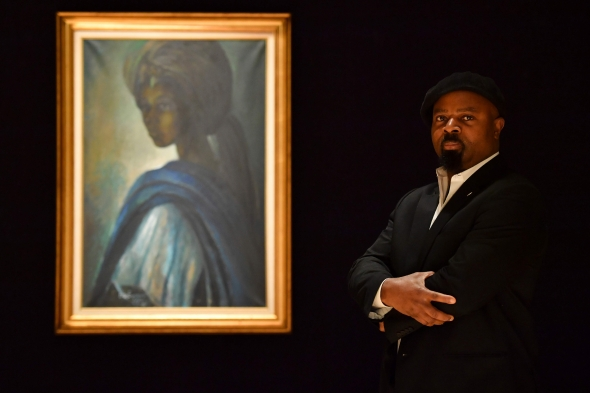 """""""Afrikos Mona Liza"""" Londono aukcione sulaukė didesnės nei tikėtasi sėkmės"""
