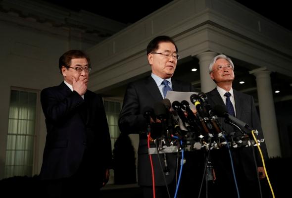 Šiaurės Korėjos ir JAV lyderiai gegužę susitiks derybų branduoliniu klausimu